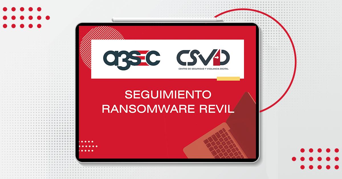 fb a3sec-alerta-Seguimiento Ransomware Revil